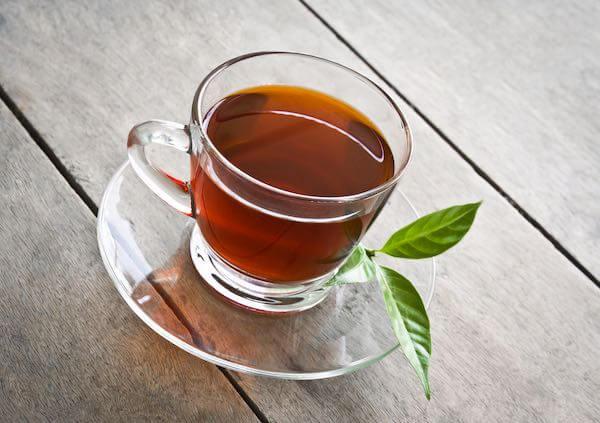 コーヒーと葉っぱ