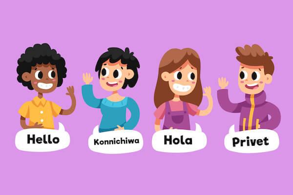 色々な言語