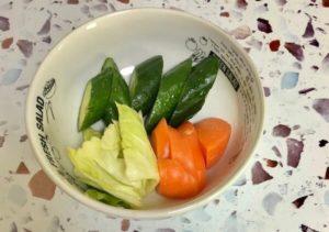 ぬか美人で漬けた野菜