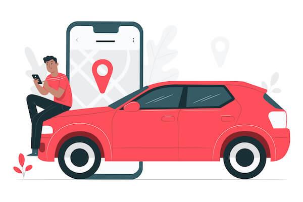 車とマップ